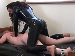 Latex sex tube clips
