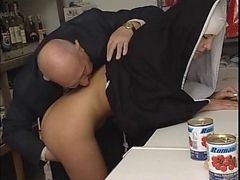 Nun, Old Man, Xhamster.com