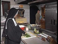 Nun, Kitchen, Xhamster.com