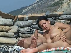 Couple, Plage, Xhamster.com