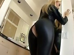 Blonde, Leather, Tube8.com