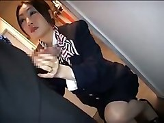 Asian, Stewardess, Tube8.com