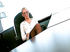 Blonde, Office, Redtube.com