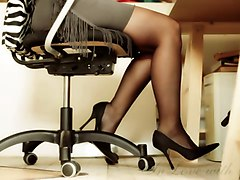 Office, Heels, Xhamster.com